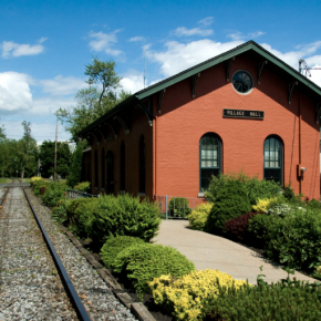 Train station in Seneca Falls.
