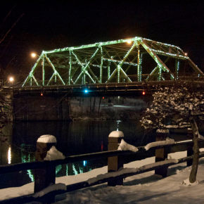 The Seneca Falls Bridge