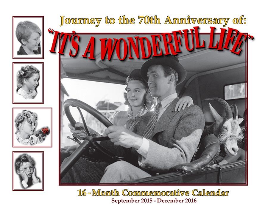 2016 Calendar front
